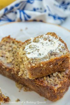 Oat Flour Banana Bread is made with Gluten Free oats, butter, and Greek yogurt, you will love this Gluten Free Banana Bread Recipe. An easy quick bread, this banana bread recipe with oat flour is made in minutes. Oat Flour Banana Bread, Gluten Free Banana Bread, Banana Bread Recipes, Gluten Free Baking, Healthy Baking, Healthy Recipes, Oat Flour Recipes, Baking Recipes, Dessert Recipes