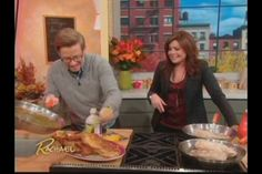 Rachael Ray kicked off her Wild Turkey Week with her guest, Top Chef: All Stars Winner Richard Blais, cooking sous vide turkey in a pair of SousVide Supreme water…