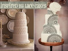 Inspired by Lace Cakes