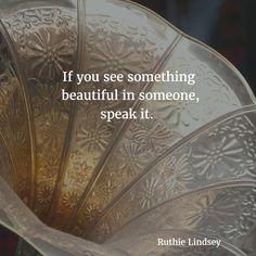 yes speak it