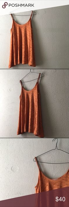 """Tangerine Twist Tank Super fun and flirty tank top, perfect for Spring and Summer//twist straps//scoop neck//65% cotton; 35% polyester//bust Small: 18""""//Medium: 19""""//Large: 20""""//PRICE FIRM UNLESS BUNDLED. This is a new (without tags) Infinity Raine Tops Tank Tops"""