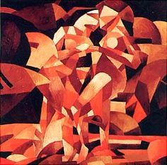 The 1913 Armory Show (Gallery I): Dances at the Spring, Francis Picabia