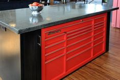 What a cool idea - SnapOn used in a Kitchen.