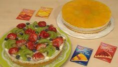 Ovocná torta - recept na ovocnú tortu so želé - VIDEO Ako sa to robí. Cake Decorating, Menu, Dishes, Make It Yourself, Cooking, Breakfast, Sweet, Food, Decoration