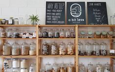 6 zero-waste stores around the Klang Valley to help you live more sustainably - Nicole Cegarra y Freese - conscious Bulk Store, Eco Store, Zero Waste Grocery Store, Pantry Inspiration, Food Waste, Sustainable Living, Store Design, Coffee Shop, Decoration