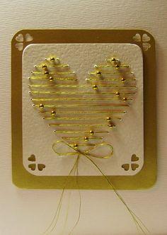 homemade wedding cards | homemade christmas cards + wedding cards ~ Craft , handmade blog