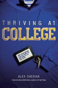 This book is about how college students can launch into responsible, fruitful adulthood for the glory of God against the backdrop of a young adult culture that often values perpetual adolescence and the avoidance of responsibility.  Now...getting a pre-college student to read it is another story!!