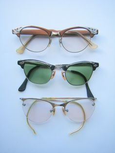 6f789a80a4d Items similar to Vintage Eyeglasses on Etsy
