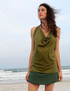 Gaia Conceptions - Float Neck Racer Back Simplicity Shirt, $125.00 (http://www.gaiaconceptions.com/float-neck-racer-back-simplicity-shirt/)