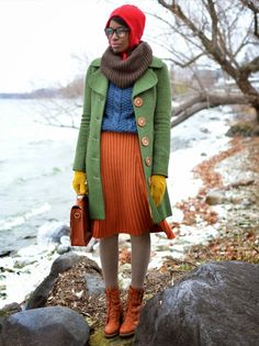 Color Blocking from the ModCloth Style Gallery
