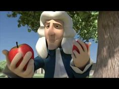 "To introduce my Force and Motion unit: Funny Story. A story told like never before. ""Best Idea Ever"" is a funny take on the actual anecdote of Sir Newton and the apple. Made as my final graduation film at Sheridan College's Computer Animation 1st Grade Science, Middle School Science, Elementary Science, Science Classroom, Teaching Science, Science Education, Science For Kids, Science Videos, Science Resources"