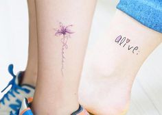 cool 51 Cute Ankle Tattoos for Women: Ideas To Inspire - Stylendesigns.com!