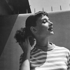 Rare Audrey Hepburn — Audrey hepburn circa 1952. Copyrights @thedottis...