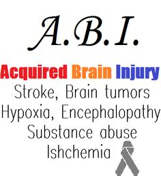 I prefer the term #ABI to #TBI for describing my own injury.