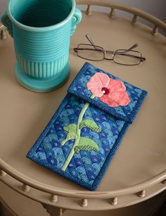 Quilted Eyeglass cover