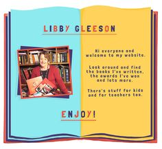 Libby Gleeson , author of Banjo and Ruby Red