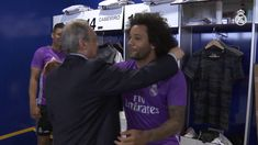 Real Madrid  Florentino Pérez welcomes the team at Ciudad Real Madrid