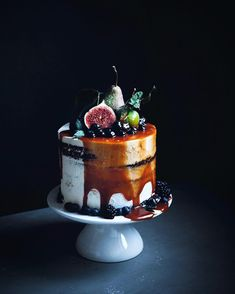 "Linda Lomelino. ""So today is the day I turn 30 And I decided to make a birthday cake. Three layers of chocolate, one vanilla, topped with mascarpone cream frosting,…"""