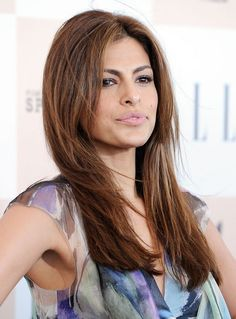 Haircut Style Long Layers for Long Hair | Eva Mendes Easy Long Layered Hairstyle for Straight Hair 2013 - Eva ...
