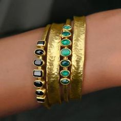 GURHAN at Juniker Jewelry - With stones this beautiful, a simple setting is all that's needed.   #GURHANJewelry #24KGold #Luxury #Jewelry #PreciousStones #HandCraftedJewelry #FallFashion #GURHANAmuletHue Shop Now:  http://www.junikerjewelry.com/designer-jewelry/gurhan