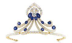 Sapphire Tiara . M. Gérard