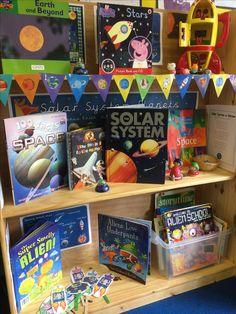 Space book corner