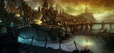 Gilneas - Characters & Art - World of Warcraft: Cataclysm