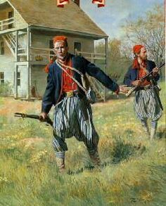Louisiana Confederate 'Tiger Rifles' (Wheat's Tigers) of 'The First Louisiana Special Battalion' in 1861 by Don Troiani Civil War Flags, Civil War Art, Gaucho, American Civil War, American History, Confederate States Of America, Civil War Photos, Historical Art, Military History