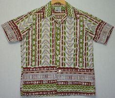 Really awesome Etsy listing at https://www.etsy.com/listing/217140637/1950s-shirt-hawaiian-m-1950s-hawaiian
