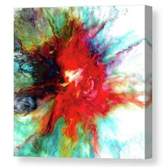 Colorful abstract painting tca by Tiktus Color Art Canvas Prints, Framed Prints, Art Prints, All Wall, Acrylic Pouring, Unique Art, Fine Art America, Wall Art, Abstract