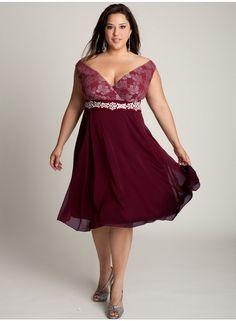 piniful.com cheap-plus-size-cocktail-dresses-06 #plussizefashion