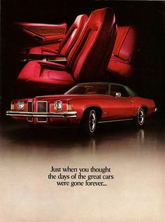 1973 Pontiac Grand Prix ...a classic design,  new body style for 73.  This year was pontiac's most stylist yet. The 73 is rarely photographed, not sure why.
