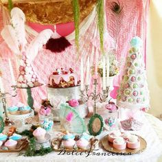 Marie Antoinette Inspired Birthday Party via Kara's Party Ideas KarasPartyIdeas.com Decor, cake, favors, tutorials, desserts, and more! #marieantoinette #amrieantoinetteparty #vintagemasqueradeparty (4)