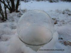 Kita - Ideenkiste! Nicht nur für ErzieherInnen!: Seifenblasen einfrieren