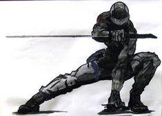 Arte Ninja, Ninja Art, Armor Concept, Concept Art, Fantasy Character Design, Character Art, Nail Bat, Snake Eyes Gi Joe, Futuristic Armour