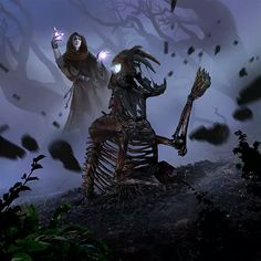 175 Best Necromancer images in 2019 | Fantasy art, Character Design