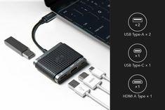 HOMI 4in1 with HDMI+USB3.1+TypeC Hub-C 快速充電傳輸集線器 - PChome 24h購物 Hdmi, Usb Hub, With, Walkie Talkie, Electronics, Consumer Electronics