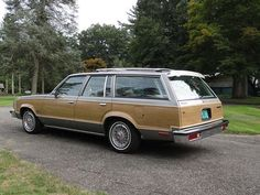 1981 Chevrolet Malibu Classic Estate Station Wagon - first car hand me down from Mom