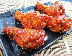 >>นู๋กระต่ายชวนเข้าครัว<<...ไก่ทอดเกาหลี(Yangnyeom-tongdak) By ฝาอบลมร้อน+ไมโครเวฟ - Pantip