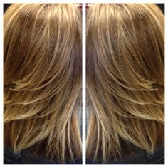 Shiny and bright with balayage! The Salon at Mill Creek Town Center 425.876.3993 Mill Creek Wa 98012
