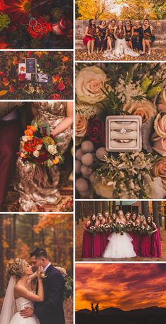 Fall Wedding Inspiration | Virginia Wedding Photographer