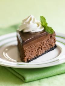 Let's Talk Cheesecake: Triple Chocolate Cheesecake