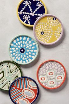 Habari Coaster - anthropologie.com
