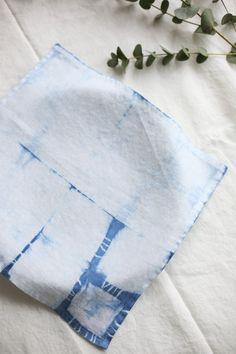 Set of 6 cloth napkins. Linen Napkins, Cloth Napkins, Napkins Set, Linen Duvet, Linen Fabric, Thanks For The Gift, Indigo Dye, Natural Linen, Fabric Weights