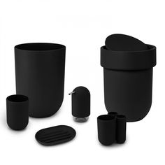 TOUCH BATH COLLECTION BLACK  | Umbra