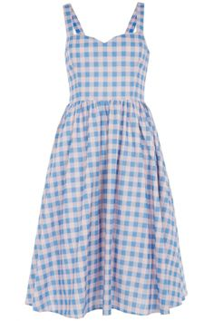 Primark Gingham Prom Dress, £17   Look