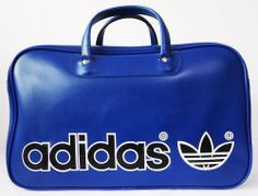 6161cde752 Added to the holdall Collection. Vintage 70s adidas Northern Soul Weekender  Holdall Sports Bag.
