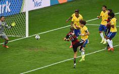 Fotos | Alemania vs Brasil , Semifinales. (Parte 1)