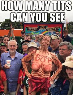 The UK's Leader of the Opposition Jeremy Corbyn MP (in blue) at Glastonbury Jeremy Corbyn Memes, Eye Sight Test, Peel Sessions, Enemy Of The State, Meme Maker, Band Camp, Britpop, Conservative Politics, Post Punk