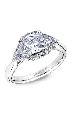 Shop Scott Kay M2564TR515 Engagement rings | Bailey Banks & Biddle